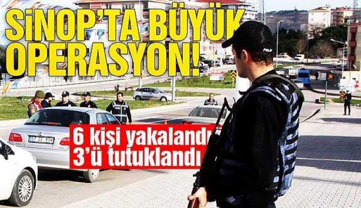 Sinop'ta emniyetten büyük operasyon - Vitrin Haber