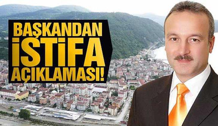 Başkan Ergün istifa ediyor - Vitrin Haber