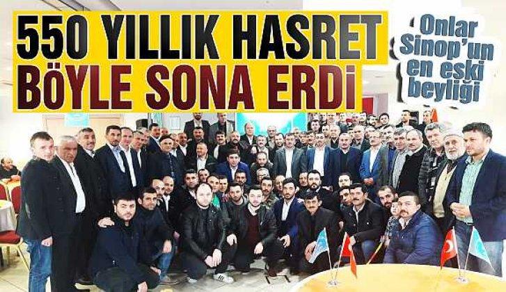 Sinop'un en eski beyliğinin torunları tekrar Sinop'ta - Vitrin Haber
