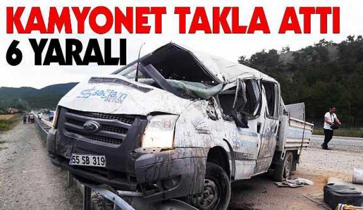 Boyabat Kastamonu yolunda kaza: 6 yaralı - Vitrin Haber