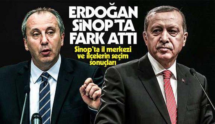 Erdoğan Sinop'ta 43 bin fark attı! - Vitrin Haber