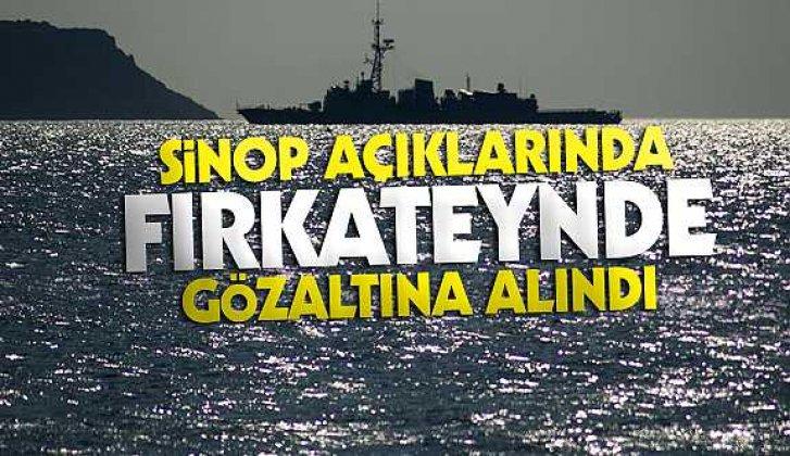 Üsteğmen Sinop açıklarında gözaltına alındı - Vitrin Haber
