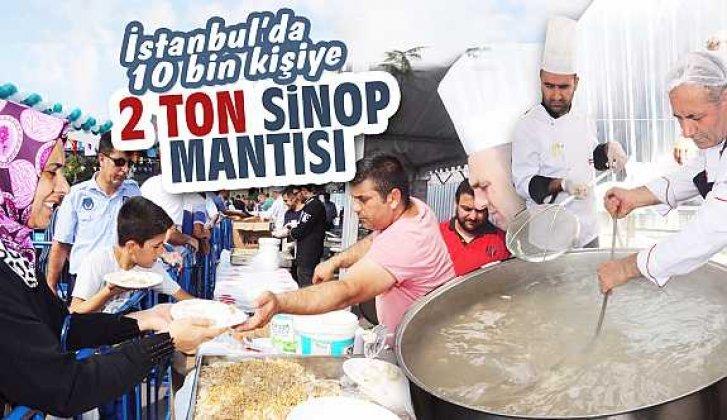 İstanbul'da Sinop mantısı kuyruğu - Vitrin Haber