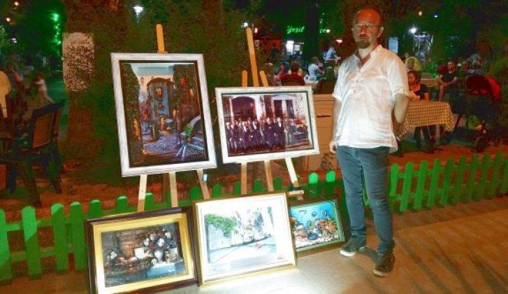 Resim öğretmeninden üç boyutlu rölyef sergisi - Vitrin Haber