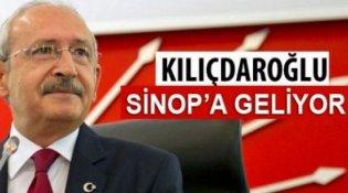 CHP Genel Başkanı Kemal Kılıçdaroğlu Sinop'a geliyor