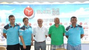 Tvf Pro Beach Tour Sinop 2015' Başlıyor