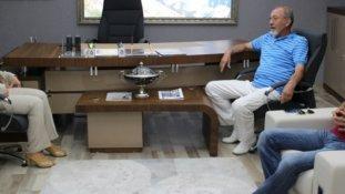 Vali Çetinkaya, Sinop Tso'yu Ziyaret Etti