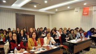 CHP Kadın Kolları Eş Güdüm Toplantısı Eskişehir'de Başladı