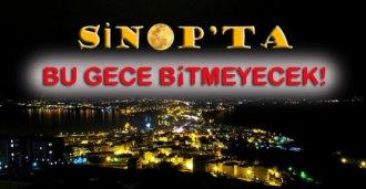 En Uzun Gece Sinop'ta Yaşanacak