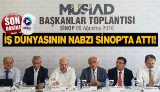 İş dünyasının nabzı Sinop'ta attı