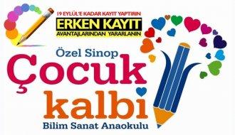 Özel Sinop Çocuk Kalbi Anaokulu yeni eğitim dönemine hazırlanıyor
