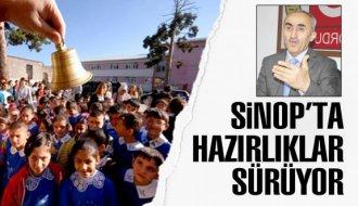Sinop'ta eğitim sezonu hazırlığı