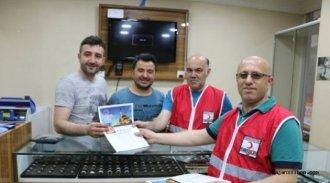 Sinop'ta Kızılay'dan Yardım Kampanyası