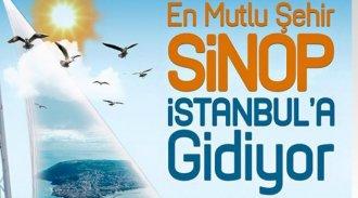 Türkiye'nin En Mutlu Şehri Sinop İstanbul'a Gidiyor