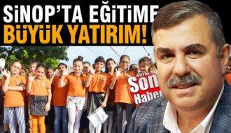 Sinop'ta eğitime 131,9 milyon TL'lik yatırım