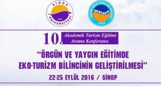 Sinop Eko-turizm Toplantısına Ev Sahipliği Yapacak