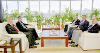 Sinop Üniversitesi'nden Rektör Bilgiç'e tebrik ziyareti