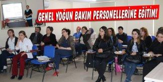 GENEL YOĞUN BAKIM PERSONELLERİNE EĞİTİM VERİLDİ!