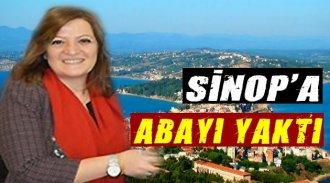Basmacı Sinop'a Abayı Yaktı