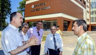 Rektör Dalgın'dan Fen Edebiyat Fakültesi ve Ayancık MYO'ya Ziyaret
