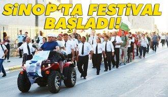 2. Uluslararası Sinop Mutluluk Festivali başladı - Vitrin Haber