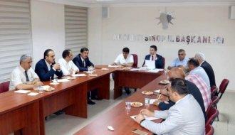 AK Parti İlçe Başkanları Toplandı - Vitrin Haber