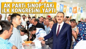 AK Parti Sinop'ta ilçe kongrelerinin ilkini yaptı - Vitrin Haber