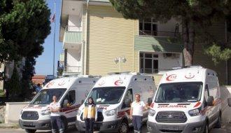 Sinop'ta ambulans sayısı arttı - Vitrin Haber