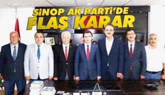 Sinop AK Parti'de 7 isimle 'Yola Devam' Kararı - Vitrin Haber