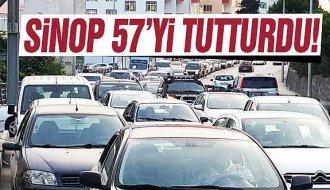 Sinop'ta 57 bin araç var - Vitrin Haber