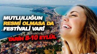 Sinop'ta Mutluluk Festivali düzenlenecek