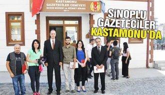 Sinoplu Gazeteciler Kastamonu'da - Vitrin Haber