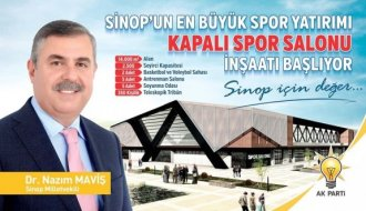 Kapalı Spor Salonu inşaatı başlıyor - Vitrin Haber