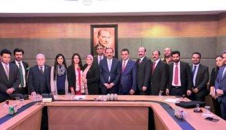 Pakistan basınından TBMM'ye ziyaret - Vitrin Haber