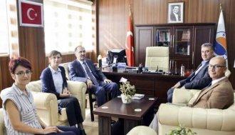 Rektör Dalgın, yeni atanan Dekanları ziyaret etti  - Vitrin Haber