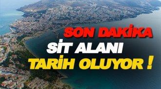 Sinop sahilleri Sit Alanından  çıkıyor