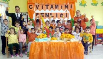 15 Eylül Anaokulunda C vitamini şenliği - Vitrin Haber