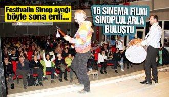 Film festivalinin Sinop ayağı tamamlandı - Vitrin Haber