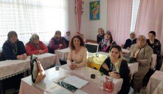 Kadınlara meme kanseri eğitimi verildi - Vitrin Haber