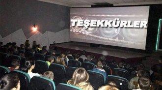 Sinop'ta özel öğrenciler sinemayla buluştu