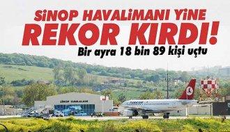Sinop'un uçuş trafiği açıklandı - Vitrin Haber