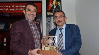 15 Temmuz gazisi Yaşar'dan Başkan Kılıçaslan'a ziyaret