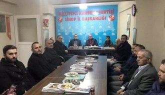 AK Parti'den MHP'ye ziyaret - Vitrin Haber