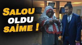 Başkan Çakıcı Nijarya Elçisine Pıta giydirdi !