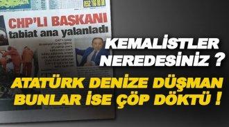 Belediye'nin 'Nokta Kadar Çöp Yok' Yalanını Tabiat Ana Yalanladı!