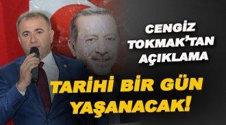 """Cengiz Tokmak """"Sinop tarihi bir gün yaşayacak."""""""