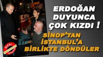 Erdoğan'ın Sinop Ziyaretinden İlginç Detay !