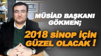 MÜSİAD Sinop Şube Başkanı Gökmen: