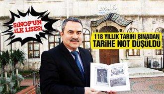 Sinop'ta 118 yıllık binanın belgeseli çekildi - Vitrin Haber