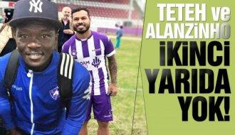 Sinopspor, Alanzinho ve Teteh ile yollarını ayırdı - Vitrin Haber